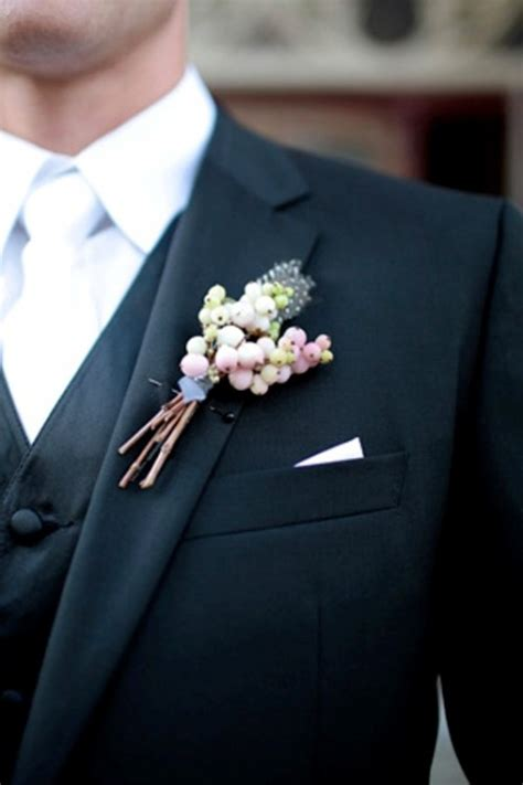 35 Unique Boutonnieres Ideas For Perfect And Special Groom