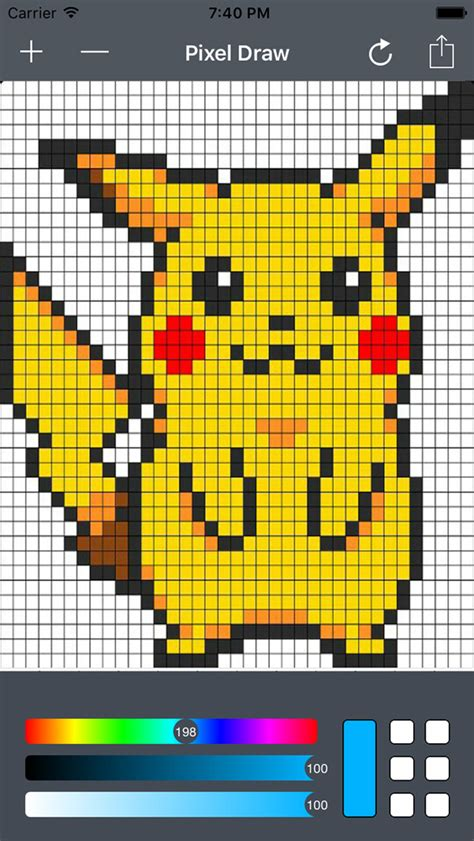 Pixelated Drawing at GetDrawings