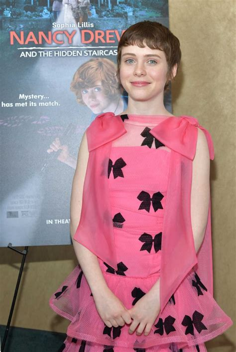 Sophia Lillis Attends the Nancy Drew and The Hidden