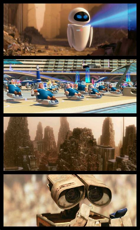 """Satire Examples in the movie """"Wall-E"""""""