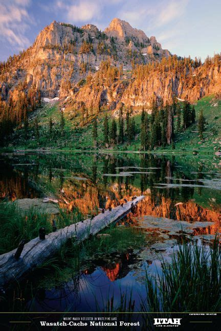 White Pine Lake, Wasatch-Cache National Forest   Utah